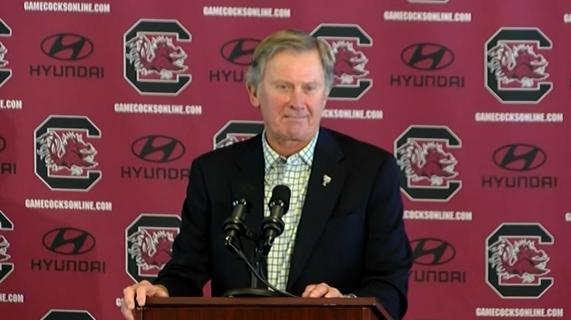 South Carolina Head Football Coach, Steve Spurrier resigns. Courtesy: NBC