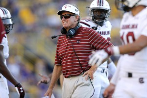 South Carolina Head Coach, Steve Spurrier, To Retire Effective Immediately. (AP Photo/Jonathan Bachman)