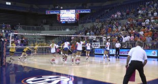 Video Recap: UF Volleyball Sweeps Mizzou at Home