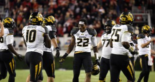 University of Missouri Football Players.