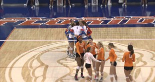 Video Recap: Florida Volleyball Sweeps Rival Tennessee at Home