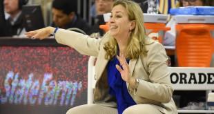Coach Amanda Butler - 2016 vs. Aggies