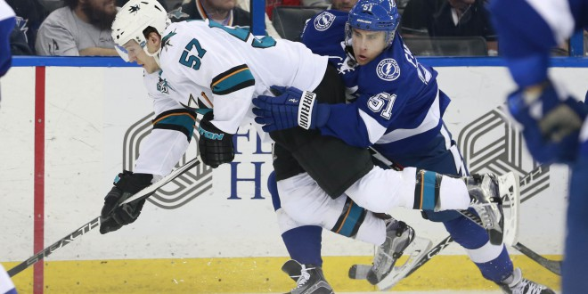 tampa bay lightning fall to the sharks espn 98 1 fm 850 am wruf