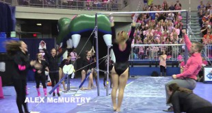 VIDEO RECAP: UF Gymnastics Dazzles in Link to Pink Meet