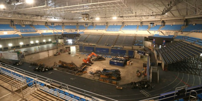 O Connell Center Renovations : O connell center demolition underway espn fm