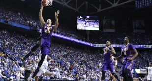 Mar 5, 2016; Lexington, KY, USA; LSU Tigers forward Ben Simmons (25) shoots the ball against the Kentucky Wildcats in the second half at Rupp Arena. Mandatory Credit: Mark Zerof-USA TODAY Sports