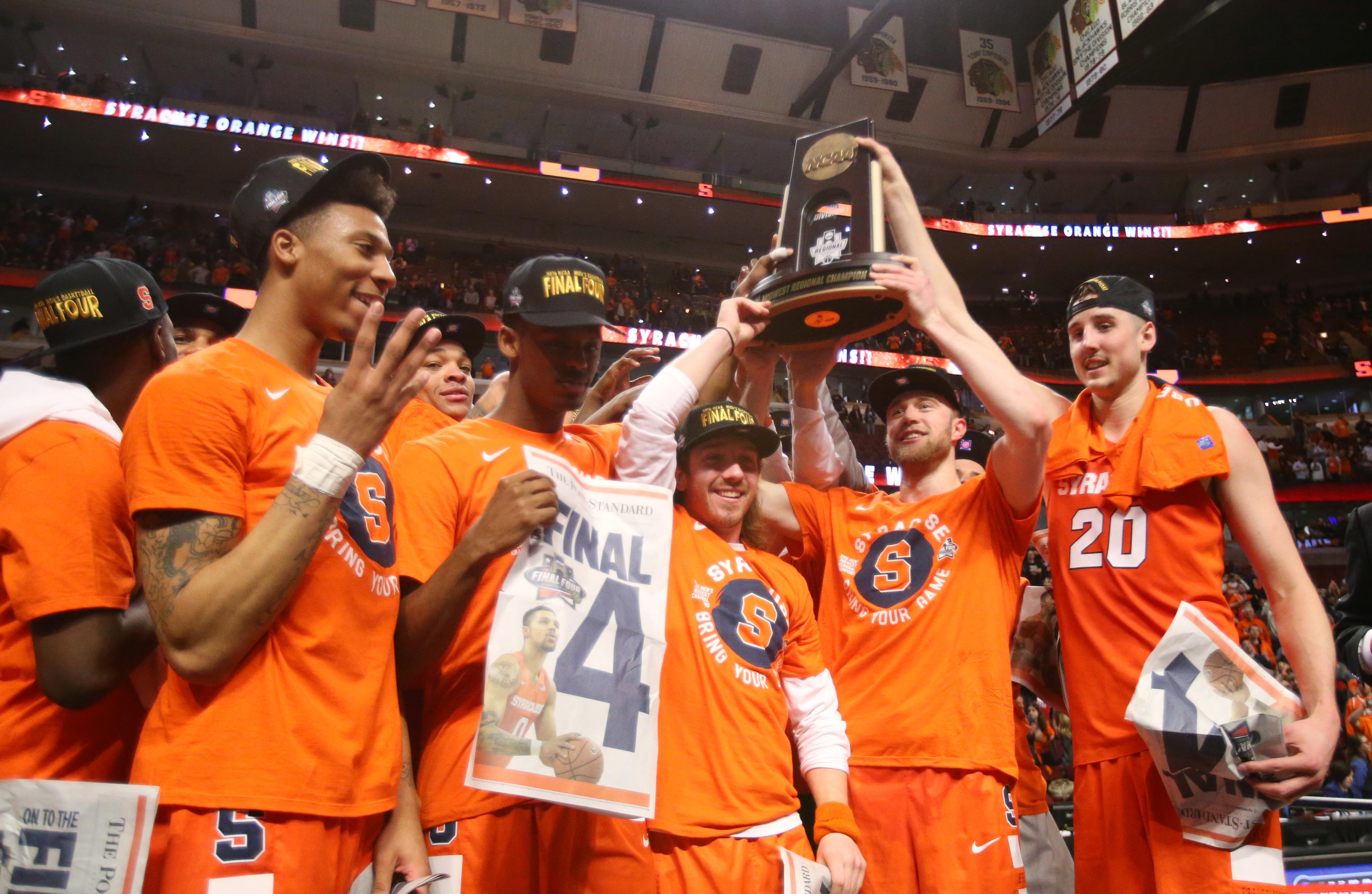 Syracuse Upsets Virginia To Continue Run To Final Four