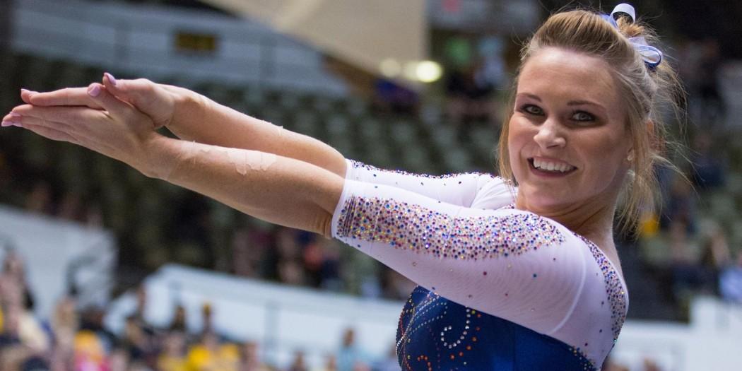 Bridget Sloan is the 2016 Honda Sports Award Recipient, honoring the nations top collegiate gymnast.