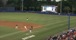 Gator Baseball falls to Georgia in the first game of the weekend series