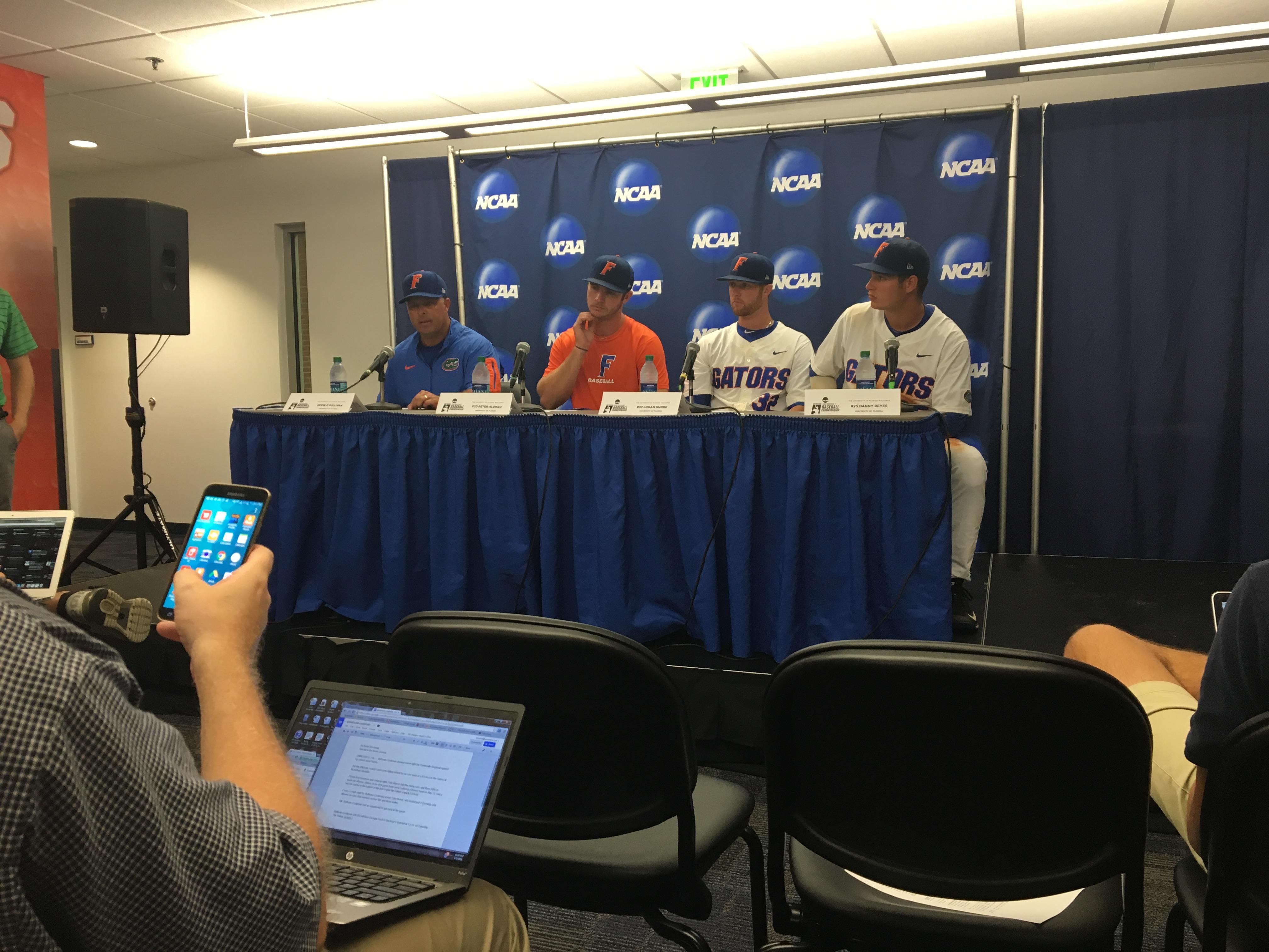 Gator Baseball Postgame Press Conference Espn 98 1 Fm 850 Am Wruf