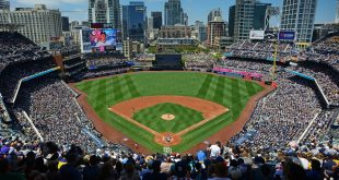 Jul 3, 2016; San Diego, CA, USA; A general view of Petco Park during the second inning between the New York Yankees and San Diego Padres. Mandatory Credit: Jake Roth-USA TODAY Sports