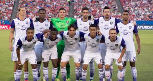 Jul 4, 2016; Dallas, TX, USA; The Orlando City FC pose for a team photo before the game against FC Dallas at Toyota Stadium. FC Dallas shuts out Orlando City FC 4-0. Mandatory Credit: Jerome Miron-USA TODAY Sports