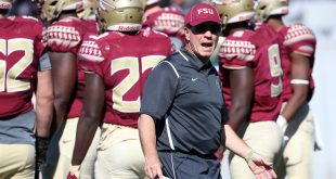 Florida State Seminoles head coach Jimbo Fisher. Mandatory Credit: Logan Bowles-USA TODAY Sports