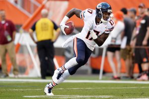 Chicago Bears wide receiver Alshon Jeffery (17) Mandatory Credit: Ken Blaze-USA TODAY Sports