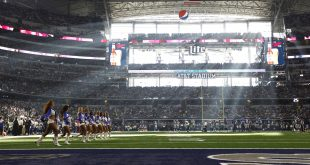 The Dallas Cowboys Cheerleaders perform during the game between the Dallas Cowboys and the New York Giants at AT&T Stadium. Credit: Erich Schlegel-USA TODAY Sports
