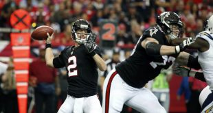 Oct 23, 2016; Atlanta, GA, USA; Atlanta Falcons quarterback Matt Ryan (2) attempts a pass in the first quarter of their game against the San Diego Chargers at Georgia Dome. Mandatory Credit: Jason Getz-USA TODAY Sports