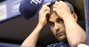 Tampa Bay Rays manager Kevin Cash is left scratching his head over 2016 season.                       Mandatory Credit: Kim Klement-USA TODAY Sports