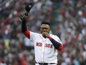 Boston Red Sox DH David Ortiz in his final season of his career. --Bob DeChiara-USA TODAY Sports