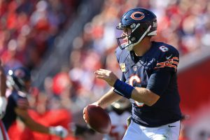Nov 13, 2016; Tampa, FL, USA; Chicago Bears quarterback Jay Cutler (6) Mandatory Credit: Aaron Doster-USA TODAY Sports
