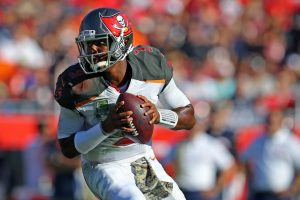 Tampa Bay Buccaneers quarterback Jameis Winston (3) Mandatory Credit: Aaron Doster-USA TODAY Sports