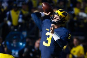Michigan Wolverines quarterback Wilton Speight--- Rick Osentoski-USA TODAY