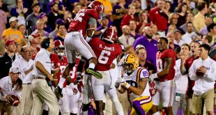 No. 1 Alabama defeats LSU 10-0 this past weekend.  --Derick Hingle--USA Today