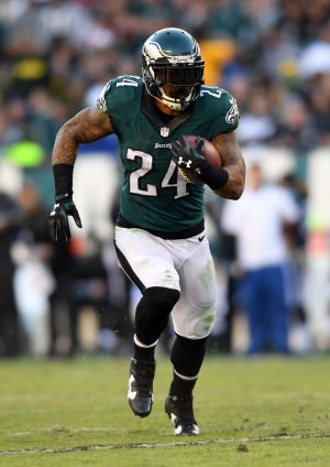 Philadelphia Eagles running back Ryan Mathews--- James Lang---USA TODAY