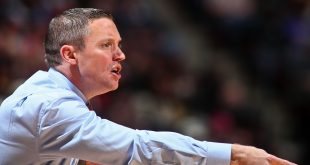 Dec 11, 2016; Tallahassee, FL, USA; Florida Gators head coach Mike White points in the first half against the Florida State Seminoles at the Donald L. Tucker Center. Mandatory Credit: Phil Sears-USA TODAY Sports