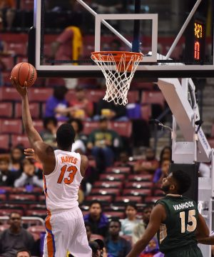 Dec 17, 2016; Sunrise, FL, USA; Florida Gators forward Kevarrius Hayes (13) shoot the ball against the Charlotte 49ers during the first half at BB&T Center. Mandatory Credit: Jasen Vinlove-USA TODAY Sports