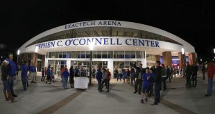 Dec 21, 2016; Gainesville, FL, USA; A general view of fans entering the Exactech Arena at the Stephen C. O'Connell Center prior to the game between the Florida Gators and Arkansas Little Rock Trojans. Mandatory Credit: Kim Klement-USA TODAY Sports