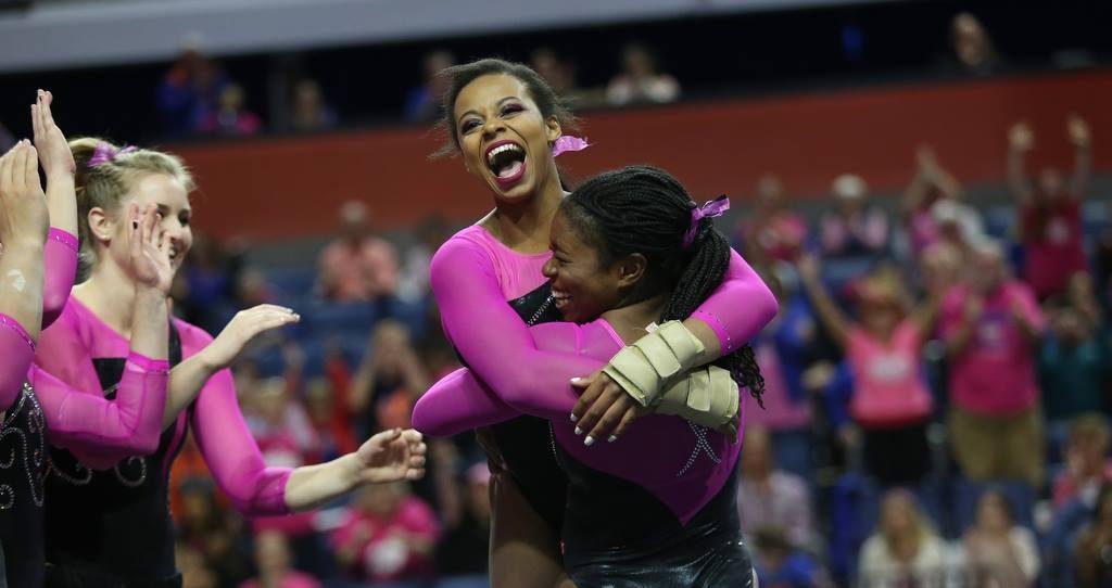 Kennedy Baker Earns Perfect Score And Rachel Gowey Leads