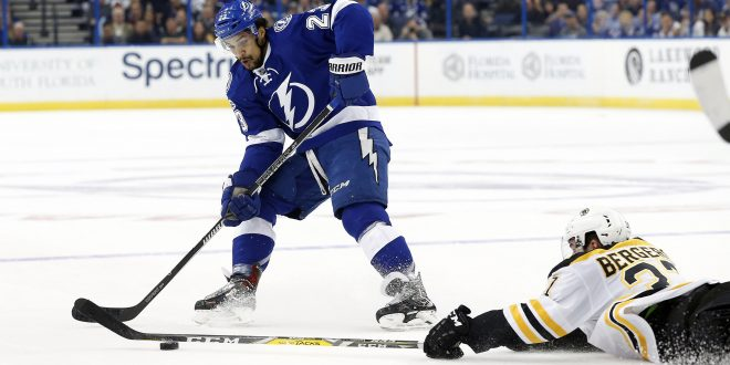 the lightning lose 4 3 to the boston bruins espn 98 1 fm 850 am wruf