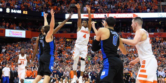Syracuse Buzzer Beater Completes Comeback Against Duke