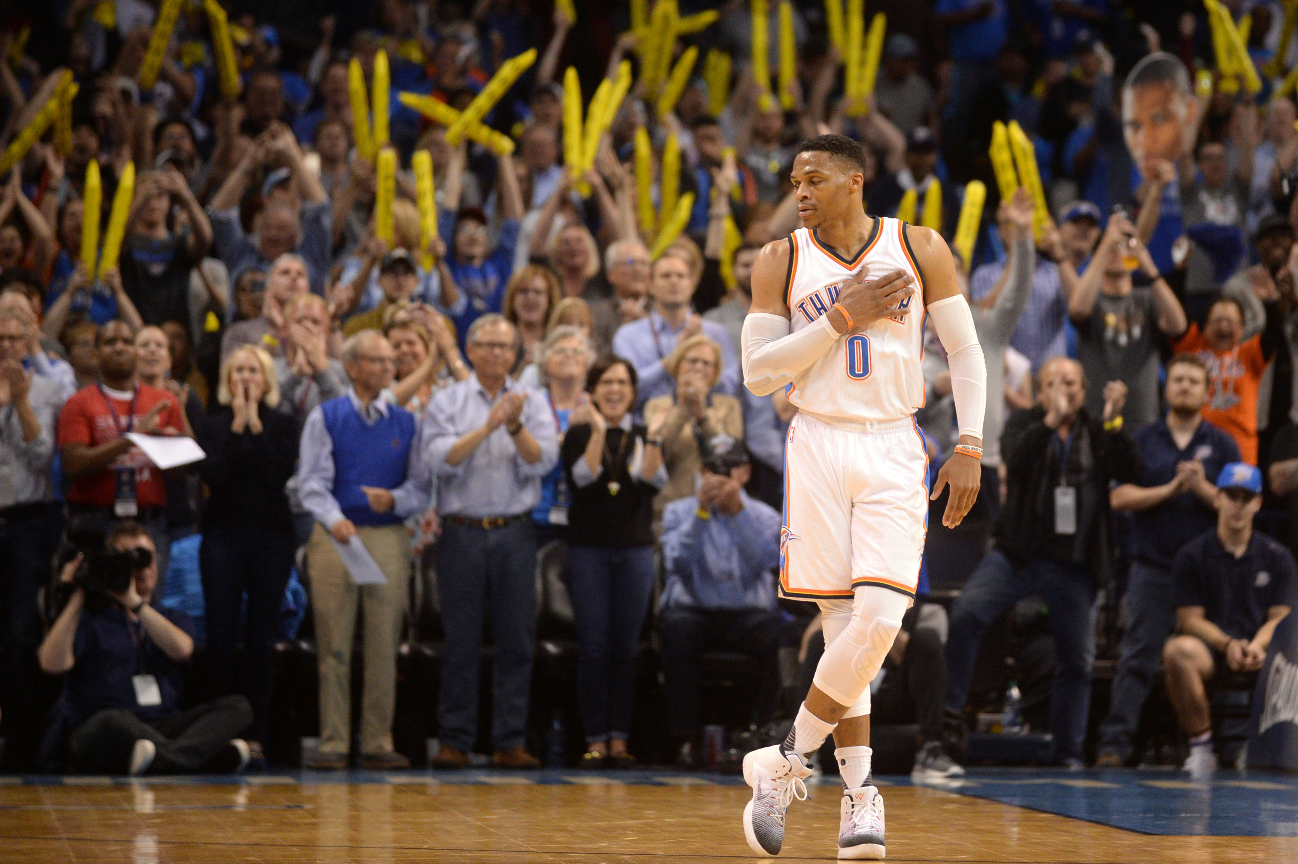 Russell Westbrook Solidifies MVP Resume with 41st Triple Double of ...