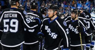 19ce1e717a5 The Tampa Bay Lightning came up short in making it to the Stanley Cup  playoffs this season. The Lightning were battling it out with the New York  Islanders ...