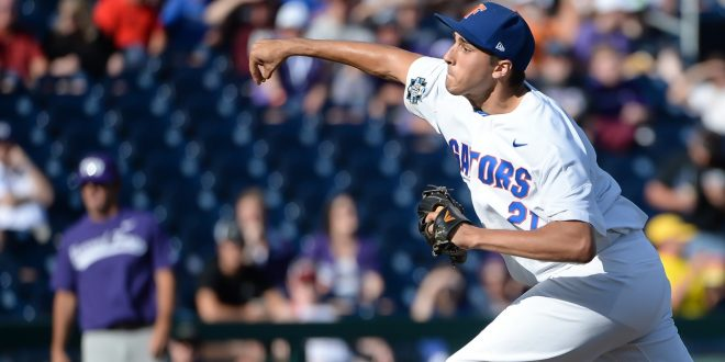 free shipping 5294e 77f22 College World Series: Gator Baseball Faces Rematch With TCU ...