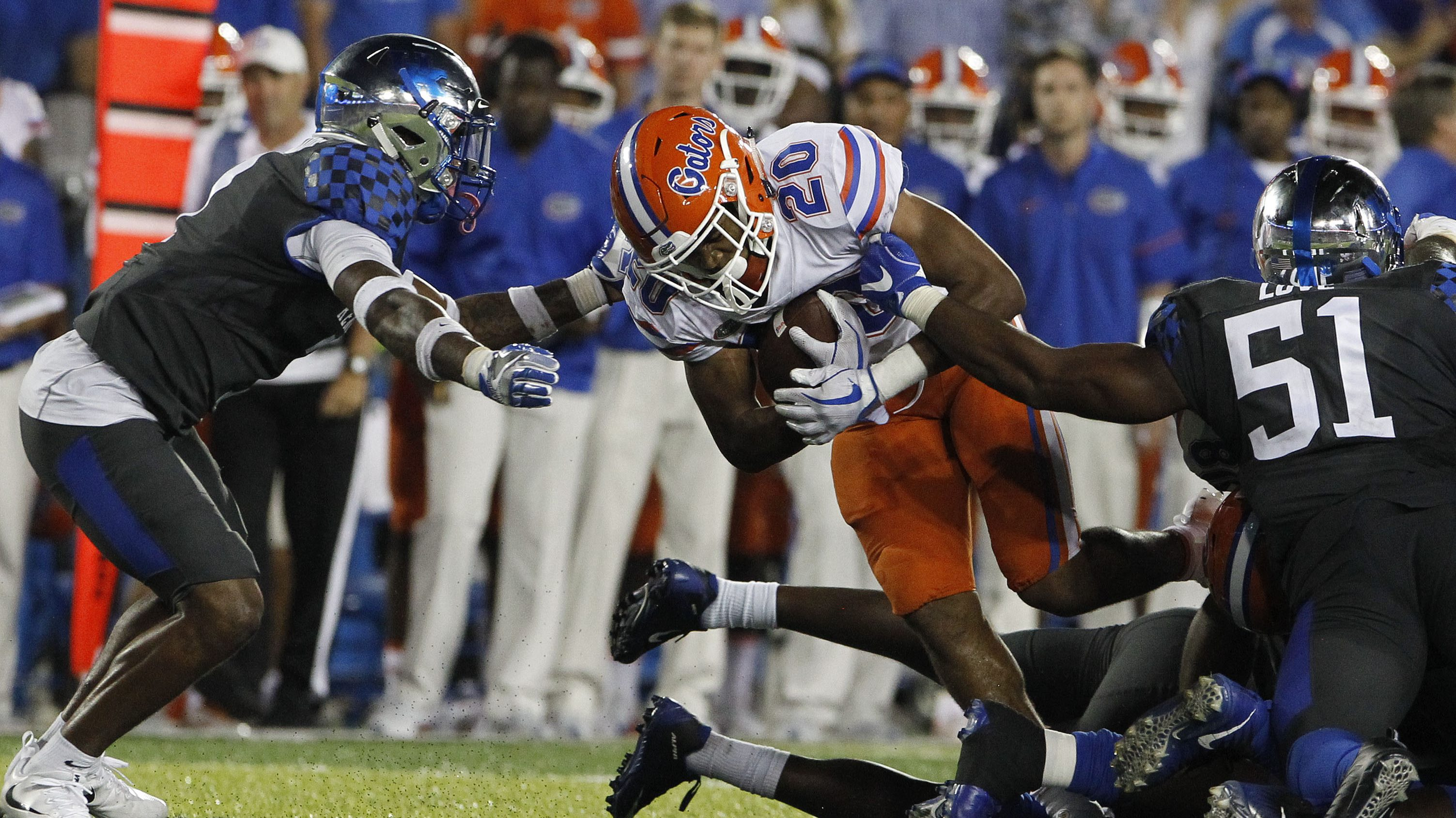 Florida Football Fights Back To Make It 31 Straight Years Over