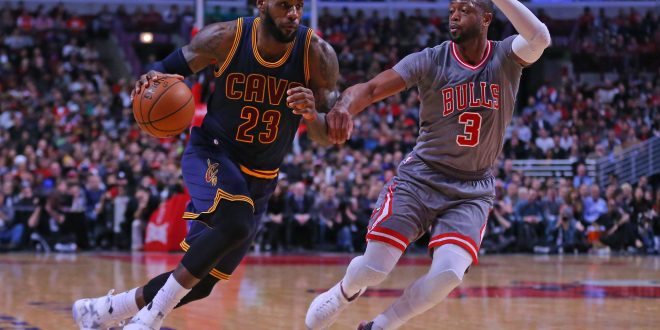 Dwyane Wade and LeBron James Reunite for Another