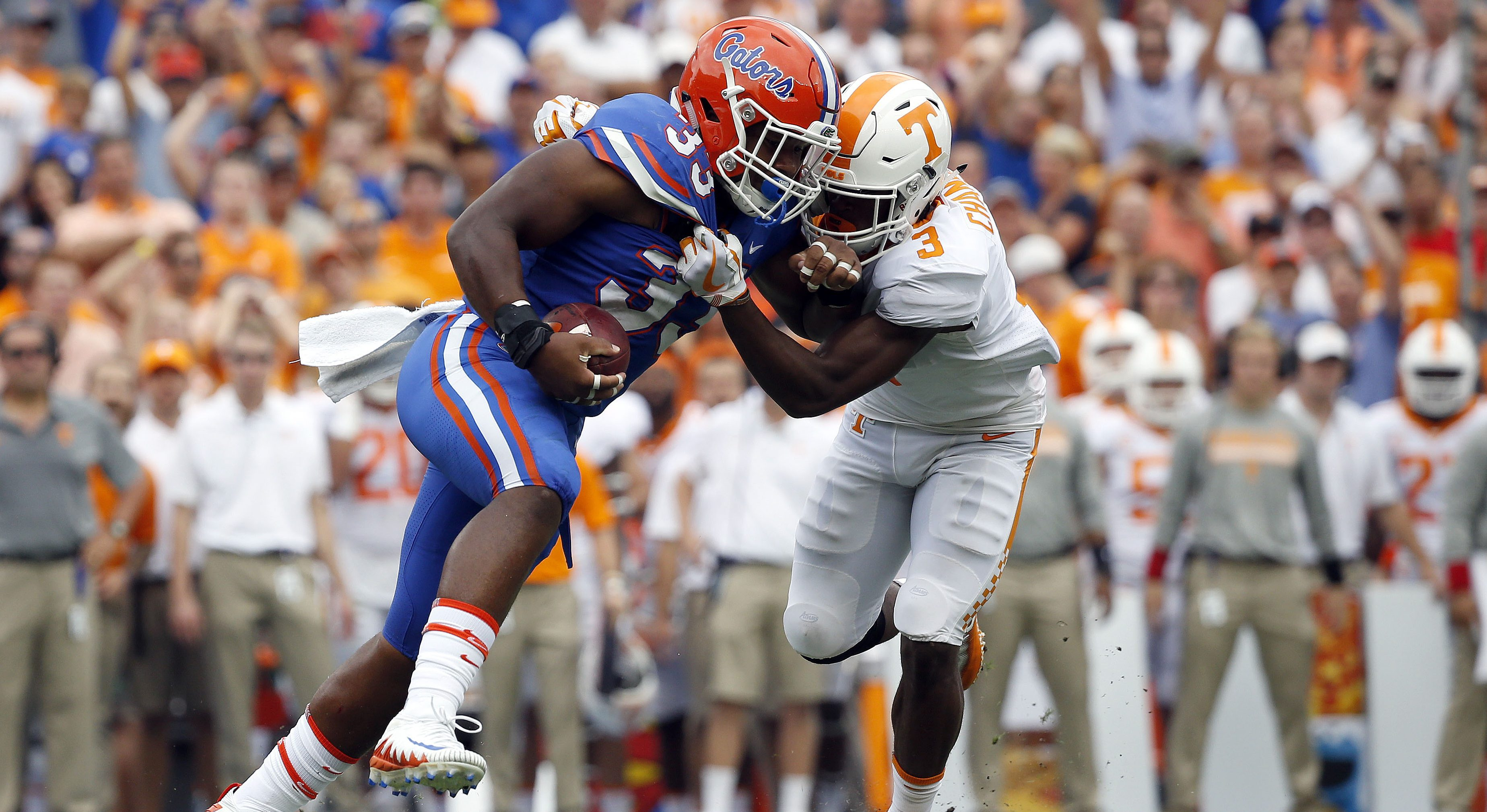 Gator LB Reese Addresses State of the Defense as LSU Looms - ESPN ...