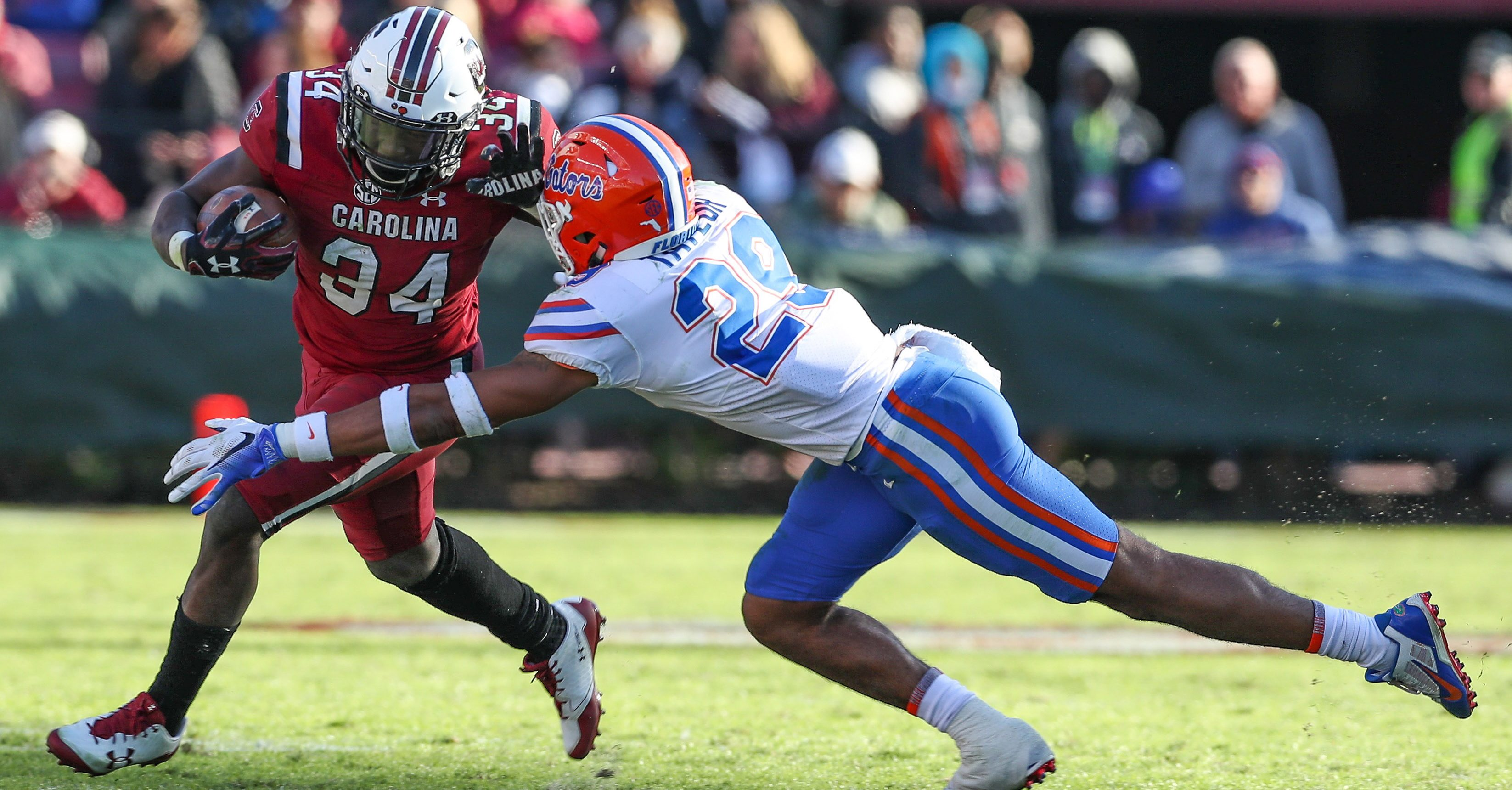 Gator Football Tries To Keep Fighting As Season Winds Down ...