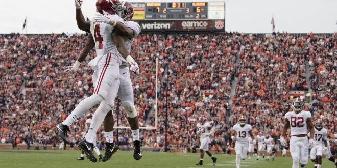 Iron Bowl Champs 2017 >> Auburn becomes the Iron Bowl champs defeating No. 1 Alabama - ESPN 98.1 FM - 850 AM WRUF