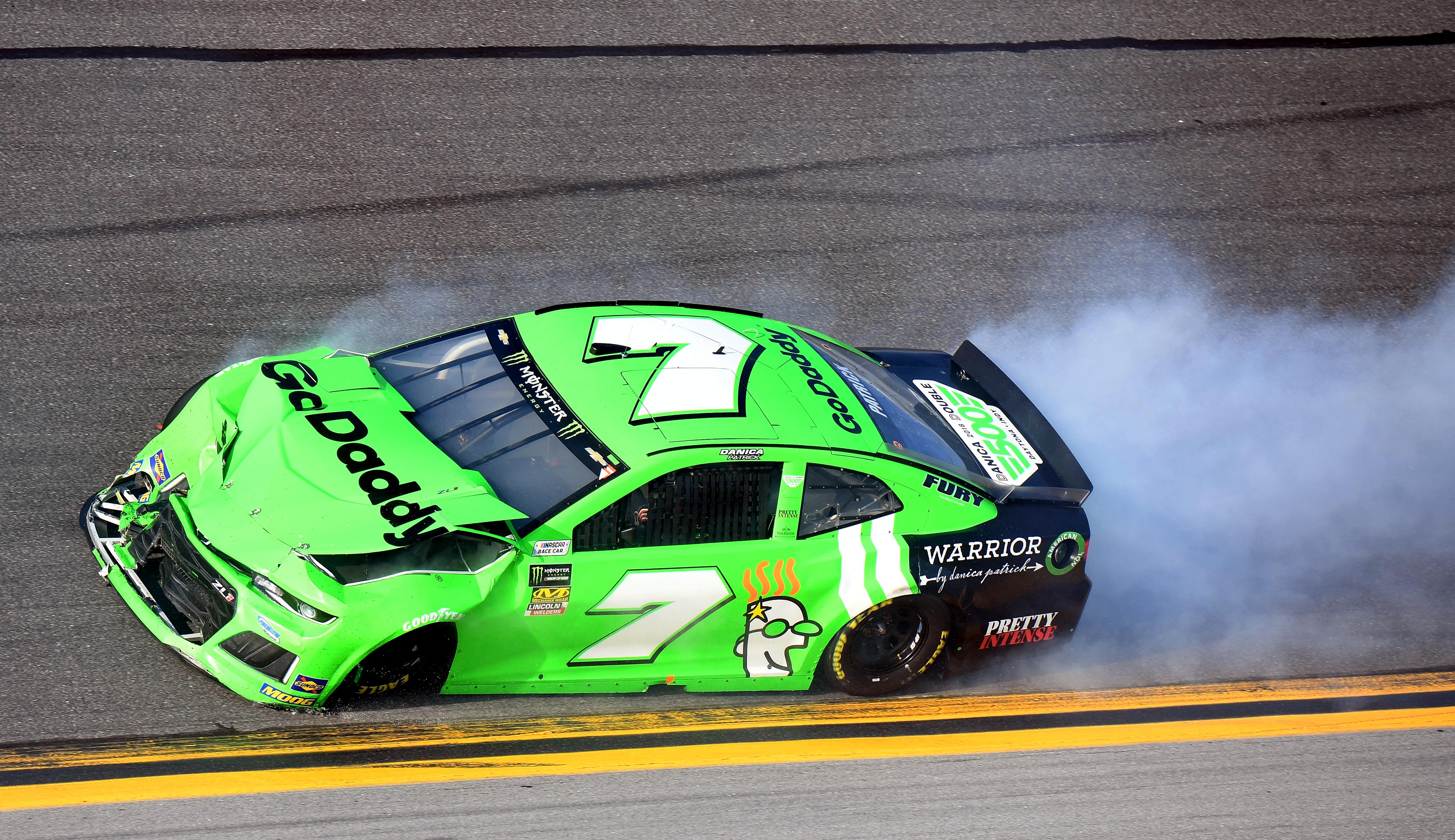 Patrick Featured Image on Nascar Racing Crashes