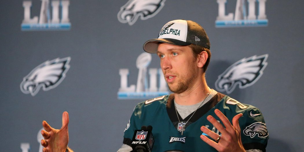 Nick Foles future with Eagles will be forecasted Sunday