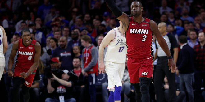 wholesale dealer 88723 8334b Miami Heat Tie The Series Against the Philadelphia 76ers, 1-1