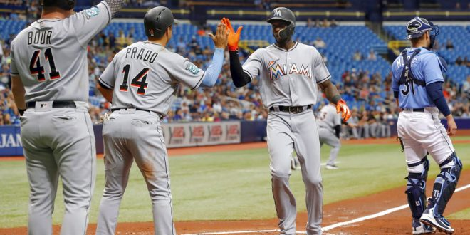 479ade9d5 Miami Marlins Best Tampa Bay Rays in All-Florida Weekend Series ...