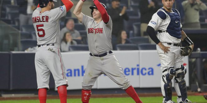 e60fe5acd17fa The Yankees and the Red Sox head to Game 4 - ESPN 98.1 FM - 850 AM WRUF