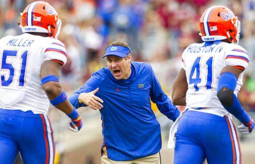 Gator Football Florida Coaching Staff Visit Top Recruits Espn