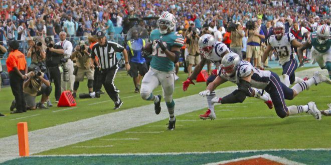 b55010ed3 Dolphins Shock Patriots With Miami Miracle - ESPN 98.1 FM - 850 AM WRUF