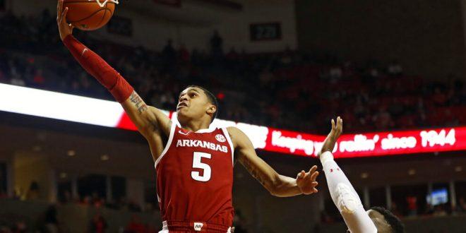 Jalen Harris Arkansas Razorbacks Basketball Jersey - Red
