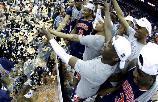 NCAA Auburn Tigers Locker Room Pillow